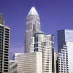 Charlotte's financial & banking center